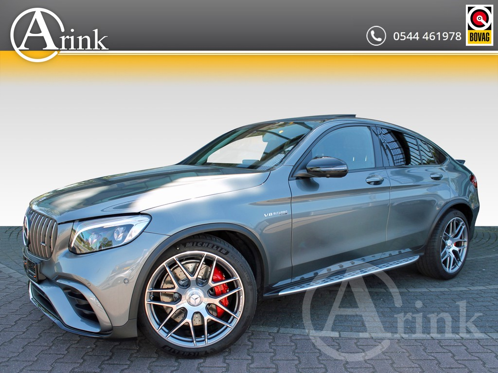 Mercedes-Benz - GLC - Coupe 63 S AMG 4MATIC+